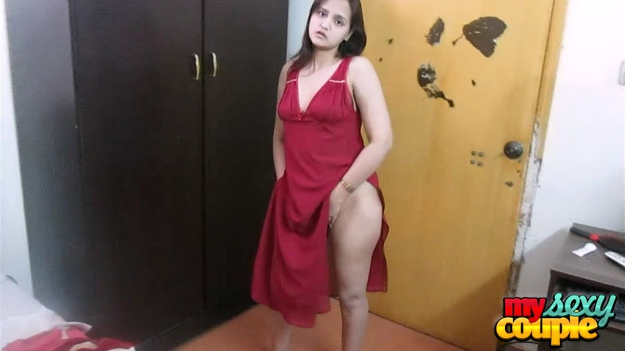 bedroom sex indian wife sonia teasing husband - hot indian couples